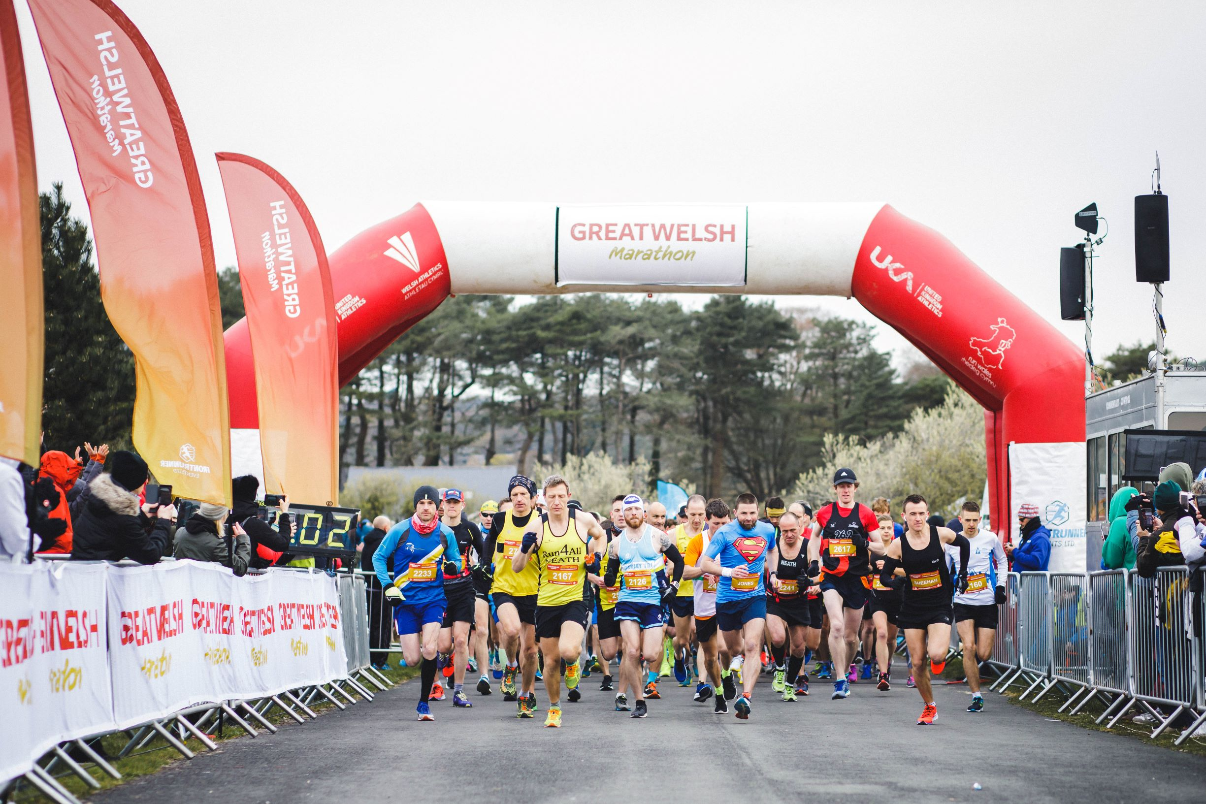 f77a1d113 The third edition of the Great Welsh Marathon   Half Marathon organised by  Front Runner Events that took place on Sunday 14th April was hailed an ...